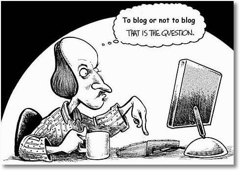 to blog or not to blog - How to think like a Blogger