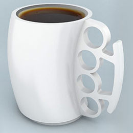 One way to avoid the whole size discussion -- while reducing your impact on the planet -- is to take your own mug