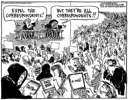 Expel the correspondents